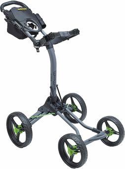 New Open Box Bag Boy Quad XL Golf Push and Pull Cart Battles