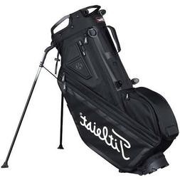 New 2017 Titleist Players 14 Stand Carry Bag Black White TB7