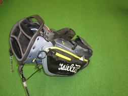 NEW Titleist Players 4 Plus Charcoal/Black/Volt Golf Stand B