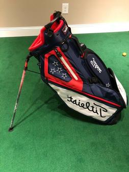 NEW TITLEIST PLAYERS 4 USA Stand Bag Golf Bag Limited Editio