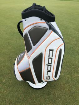 New Cobra Rep Grey/White/Orange Staff Cart Bag