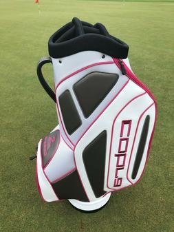 New Cobra Rep Grey/White/Pink Staff Cart Bag