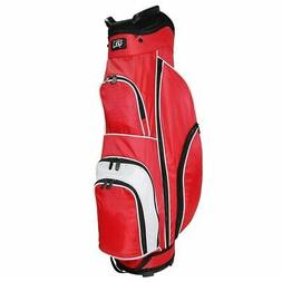 NEW RJ Sports CC-490 Starter Cart / Carry Golf Bag Red / Whi