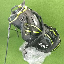 NEW! TaylorMade Select Stand Carry Golf Bag Dual Straps Blac