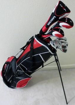 NEW Senior Graphite Golf Set Complete Driver, Wood, Hybrid,