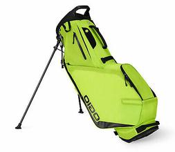 NEW Ogio Shadow Fuse 304 Glow Sulphur Stand/Carry Golf Bag
