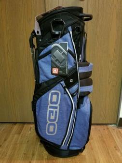 New Ogio Silencer Golf Stand Bag Blue Static