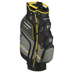 New Wilson Staff Nexus III Cart Bag Black / Yellow