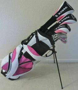 NEW Tall Ladies Golf Set Complete Driver Wood Hybrid Irons P