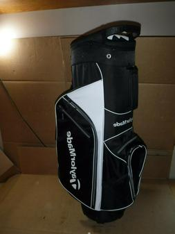 NEW TAYLORMADE GOLF BAG FOR CART 5.0 GOLF BLACK /WHITE