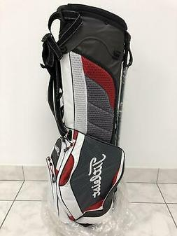 NEW Titleist Ultra Lightweight Stand Bag -Charcoal/White/Red