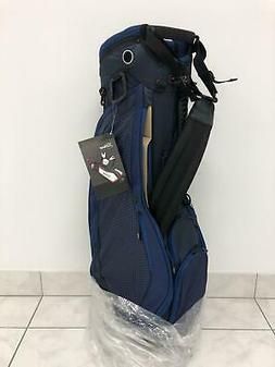 NEW Titleist Ultra Lightweight Stand Bag - Navy - 2 Sided Cu