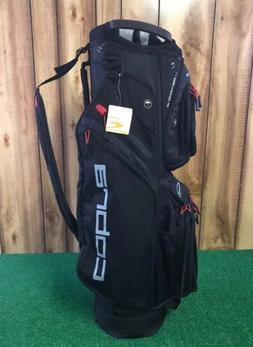 New - Cobra Ultralight Cart Bag -14 Full Length Dividers -Bl