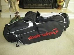 New w/Tags TaylorMade TM17 5.0 Stand Golf Bag Black/Red/Whit