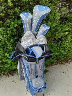 NEW WOMEN'S Cobra Fly Z Blue 7pc + Bag Golf Club Set 2017 La