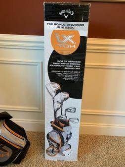 New Callaway XJ Hot Boys Junior Golf Club Complete Set Right