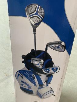 NEW!! Callaway XJ Junior Set Blue  5 Piece Complete Golf Set