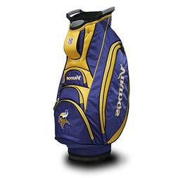Team Golf NFL Minnesota Vikings Victory Golf Cart Bag, 10-wa