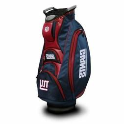 Team Golf NFL New York Giants Victory Golf Cart Bag, 10-way