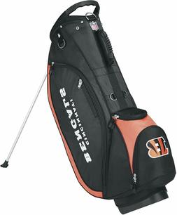 NFL OFFICIALLY LICENSED SEATTLE SEAHAWKS WILSON GOLF BAG WIT
