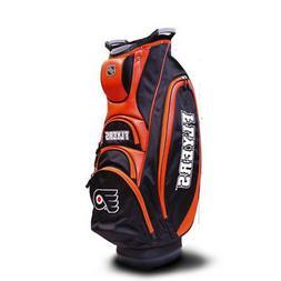 Team Golf NHL Philadelphia Flyers Victory Golf Cart Bag, 10-
