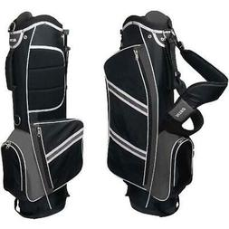 Nitro Lightweight Stand Golf Bag, Black/Silver