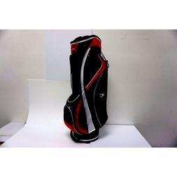 Nitro Pro Cart Golf Bag Red/Black Equipment Accessory Sports
