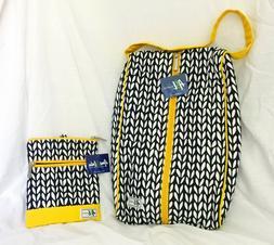 "NWT Ame & Lulu ""Vine"" Zippered Women's Golf Shoe Bag & Carry"
