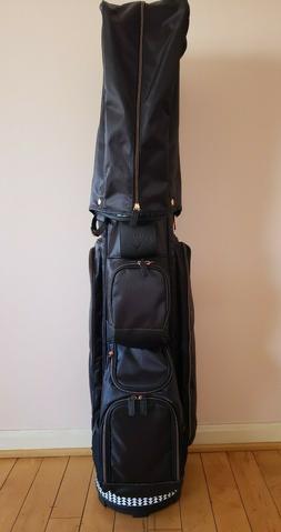 NWT Callaway Womens Golf Uptown Black Cart Bag 6-way Lightwe