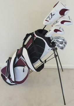 NEW Womens Petite Golf Club Set Driver Wood Hybrid Irons Put