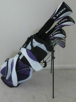 Petite Ladies Golf Set Driver, Wood, Hybrid, Irons, Putter,