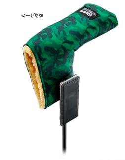 PING Japan Golf PT Putter Cover for Blade HC-C201 Camo Green