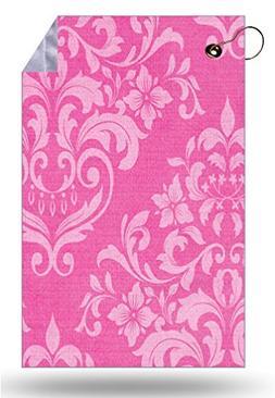 Moonlight Printing Pink Damask Vintage Effect Pattern Backgr