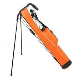 Pitch and Putt Golf Carry Lightweight Stand Bag Orange