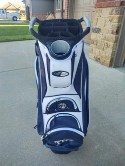 Team Golf Pittsburgh Panthers 11 Divider Golf Cart Bag w Rai