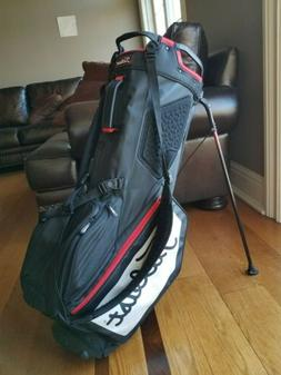 Titleist Players 14 Stand Golf Carry Bag Black White Red