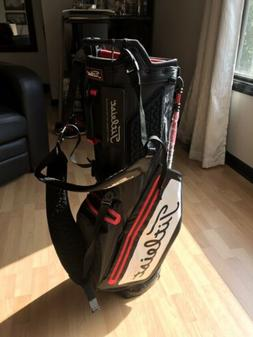 Titleist Players 4 StaDry Stand Golf Bag NEW Black White Red