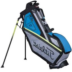 Titleist Players 4 Stand Bag 2017 Gray/Sapphire/Lime