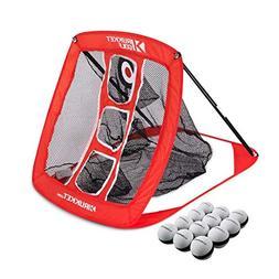 Rukket Pop Up Golf Chipping Net | Outdoor / Indoor Golfing T