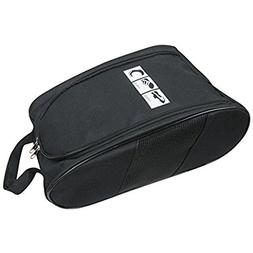 Portable Travel Shoe Bags with Zipper Closure, Convenient Fo