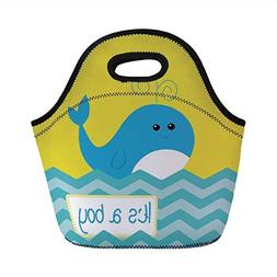 Portable Bento Lunch Bag,Gender Reveal Decorations,Its A Boy