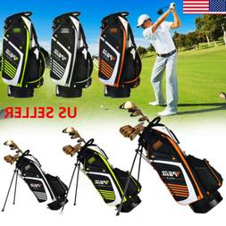 Portable PGM Golf Bag with Stand 14 Sockets with Dual Shoude
