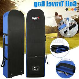Golf Bag Smooth Rolling Golf Travel Bag Cover Case Carrier w