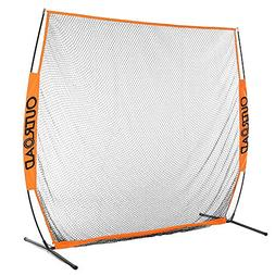 portable golf net hitting pitching