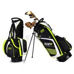 PGM Portable Golf Stand Bag Golf Bags Multi-Pockets Waterpro