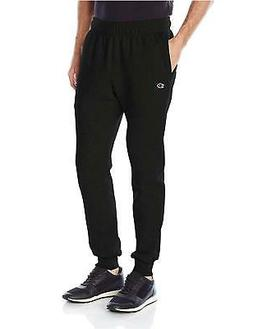 Champion Men's Powerblend Retro Fleece Jogger Pant, Black, M
