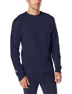 Champion Men's Powerblend Sweats Pullover Crew Navy XL
