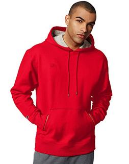 Champion Men's Powerblend Sweats Pullover Hoodie Team Red Sc