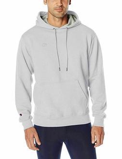 Champion Men's Powerblend Sweats Pullover Hoodie White XL