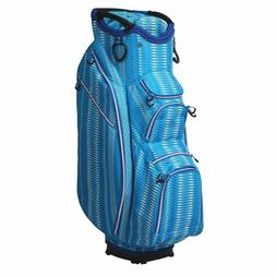OUUL Python Super Light 15 Way Cart Bag with free golf Cart